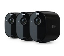Caméra de sécurité Arlo  Essential Noir x3 VMC2330B