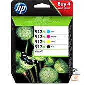 Cartouche d'encre HP 912XL Pack C/M/J/N