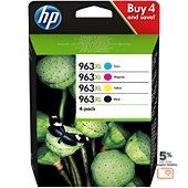 Cartouche d'encre HP 963XL Pack C/M/J/N