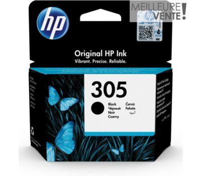 Cartouche d'encre HP 305 noire