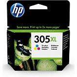 Cartouche d'encre HP  N305 XL 3 couleurs