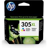 Cartouche d'encre HP 305 XL 3 couleurs