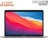 Ordinateur Apple Macbook AIR New M1 8 256 Gris Sideral