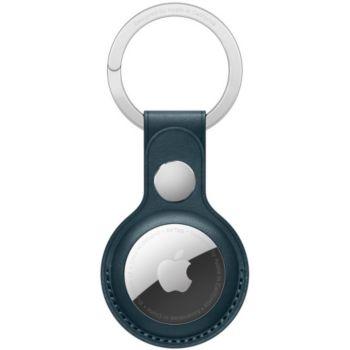 Apple AirTag porte-clés Cuir bleu