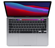 Ordinateur Apple Macbook  Pro New M1 8 512 Gris Sideral