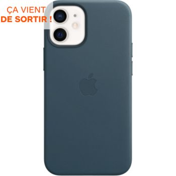 Apple iPhone 12 mini Cuir bleu MagSafe