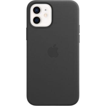 Apple iPhone 12/12 Pro Cuir noir MagSafe