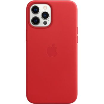 Apple iPhone 12 Pro Max Cuir rouge MagSafe