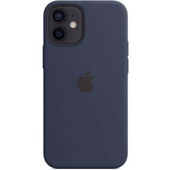 Apple iPhone 12 mini Silicone bleu MagSafe