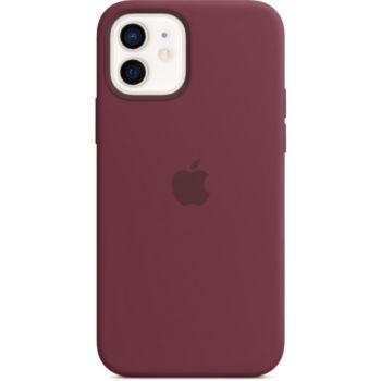 Apple iPhone 12/12 Pro Silicone bordeau Magsaf