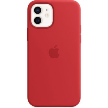 Apple iPhone 12/12 Pro Silicone rouge MagSafe