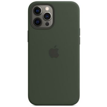 Apple iPhone 12 Pro Max Silicone vert MagSafe