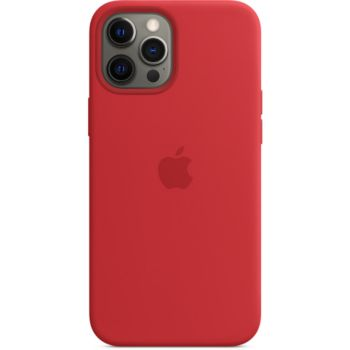 Apple iPhone 12 Pro Max Silicone rouge MagSafe