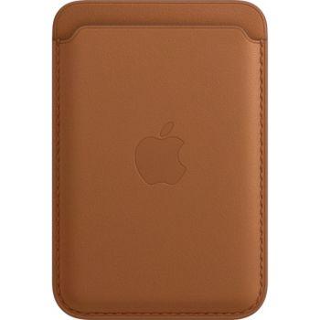 Apple Cuir marron MagSafe