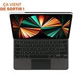 Clavier tablette Apple Magic Keyboard pour Ipad Pro 12.9 Noir