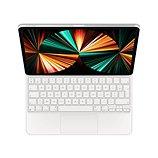 Clavier tablette Apple Magic Keyboard pour Ipad Pro 12.9 Blanc