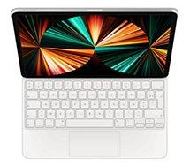 Clavier tablette Apple  Magic Keyboard pour Ipad Pro 11 Blanc