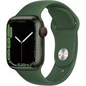 Montre connectée Apple Watch 41MM Alu/Vert Series 7 Cellular