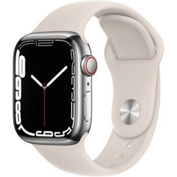 Apple Watch 41MM Acier Arg/Lum Stellaire Series 7 Ce