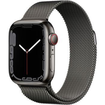 Apple Watch 41MM Acier Graph/Bouc Graph Mi Series7 C