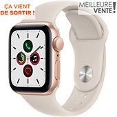 Montre connectée Apple Watch SE 40MM Alu Or/Lumière Stellaire