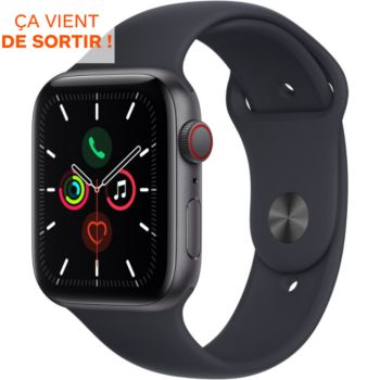 Apple Watch SE 44MM Alu Gris/Minuit Cellular