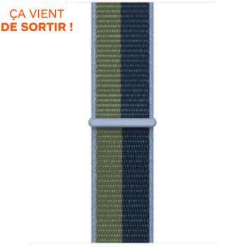Apple 40/41mm Sport Loop bleu/vert