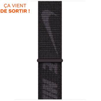 Apple 44/45mm NIKE Sport Loop noir