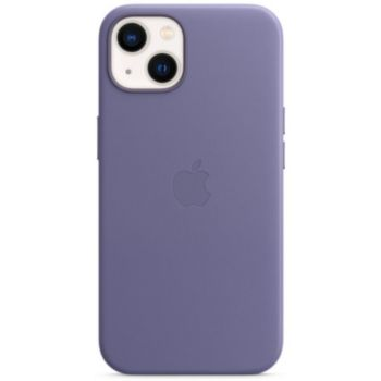 Apple iPhone 13 Cuir violet MagSafe