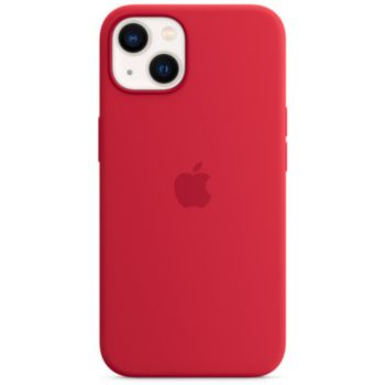 Apple iPhone 13 Silicone Rouge MagSafe