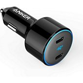 Chargeur allume-cigare Anker 2x USB-C 30+18W