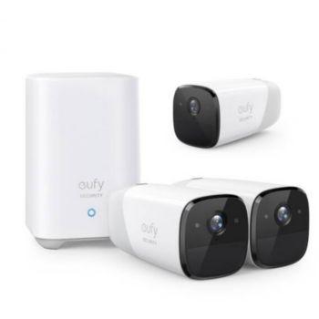Eufy EufyCam2 Pro - 3 caméras + Homebase 2