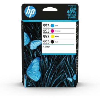 HP 953 Noire + 3couleurs