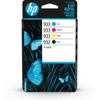 HP 4 cart N 932 Noir-933 C/Y/M