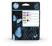 Cartouche d'encre HP  903 noire + 3 couleurs