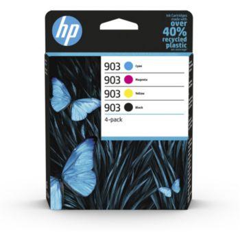 HP 903 noire + 3 couleurs