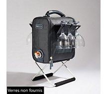 Sac fontaine à vin Cubicool  à boisson isotherme gris