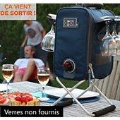 Fontaine Cubicool à boisson isotherme bleu marine