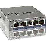 Switch ethernet Netgear  GS105E Metal 5 Ports Gbps +Interface web