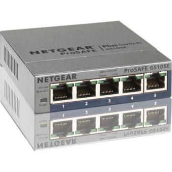 Netgear GS105E Metal 5 Ports Gbps +Interface web