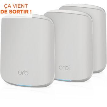 Netgear ORBI RBK353 Mesh WiFi AX1800 - Pack de 3