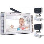 Babyphone Moonybaby Moonybaby Baby Monitors avec 2 cameras,