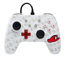 Manette Powera Manette Filaire Switch Mario Odyssey