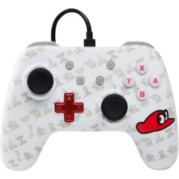 Powera Manette Filaire Switch Mario Odyssey