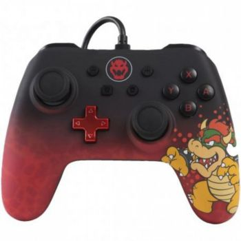 Powera Manette Filaire Switch Bowser
