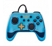 Manette Powera Manette Filaire Switch Zelda Chrome