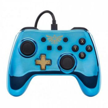 Powera Manette Filaire Switch Zelda Chrome