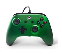 Manette Powera Manette Filaire Xbox One Emeraude Verte