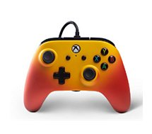 Manette Powera Manette Filaire Xbox One Solaire Orange