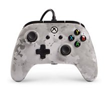 Manette Powera Manette Filaire Xbox One Camo Neige